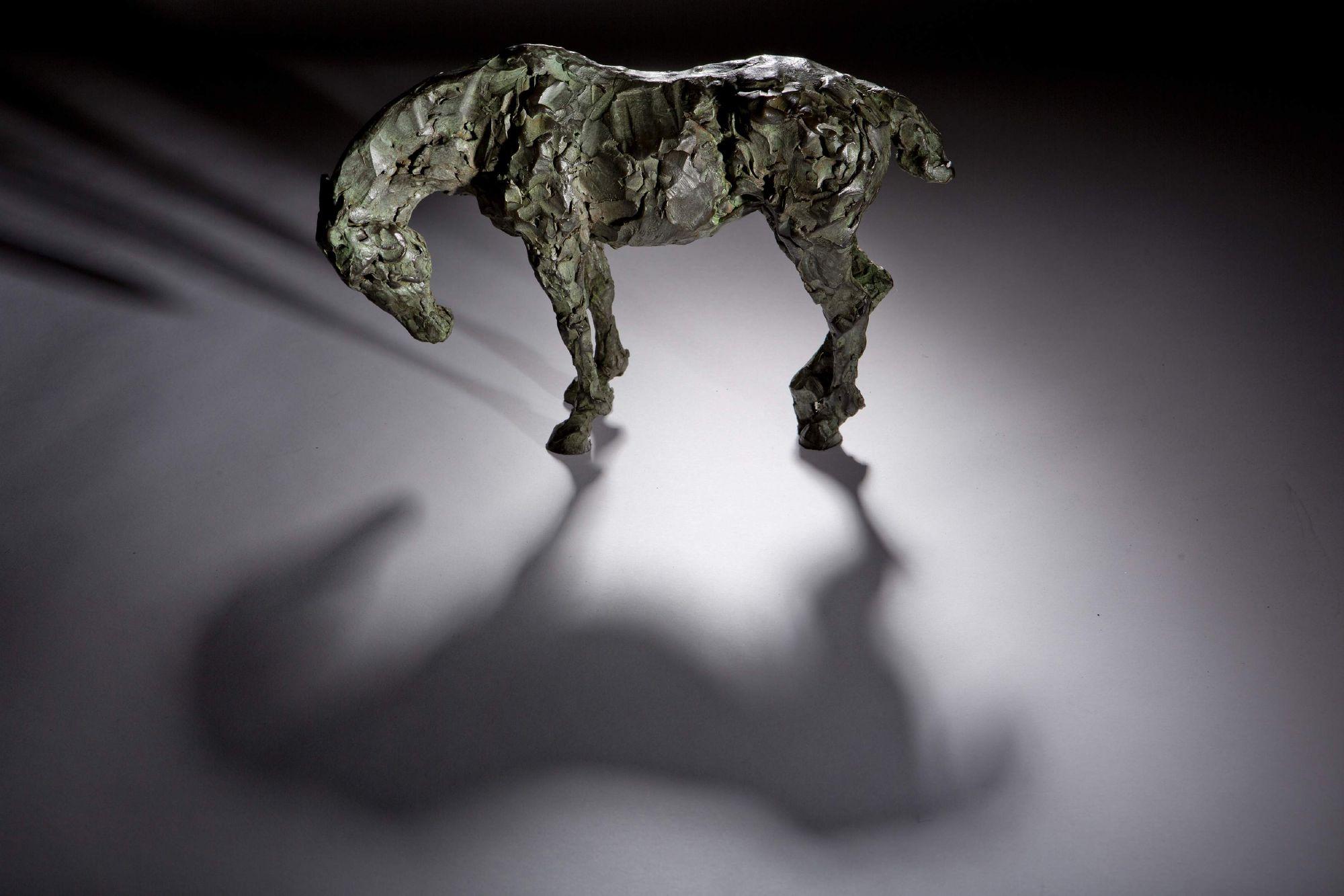 Sculpture - Bronze - Equestrian - Standing Horse 1