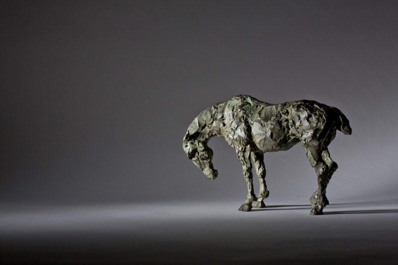 Sculpture - Bronze - Equestrian - Standing Horse 2