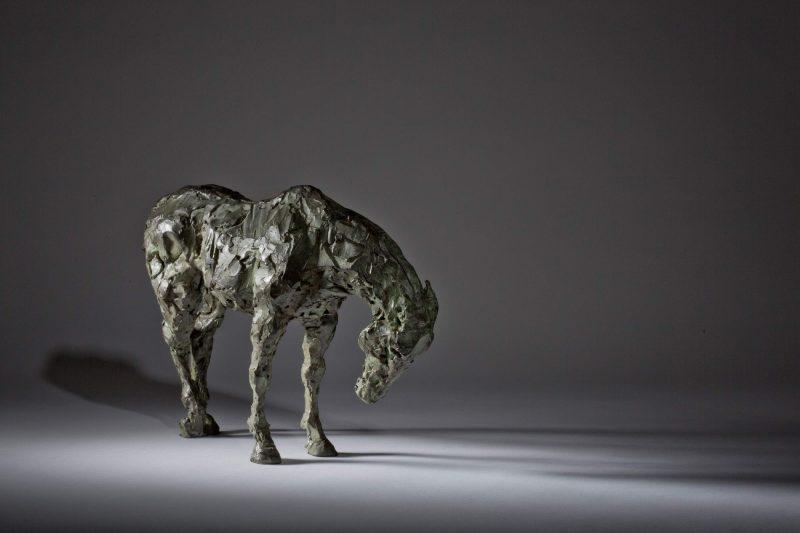 Sculpture - Bronze - Equestrian - Standing Horse 4