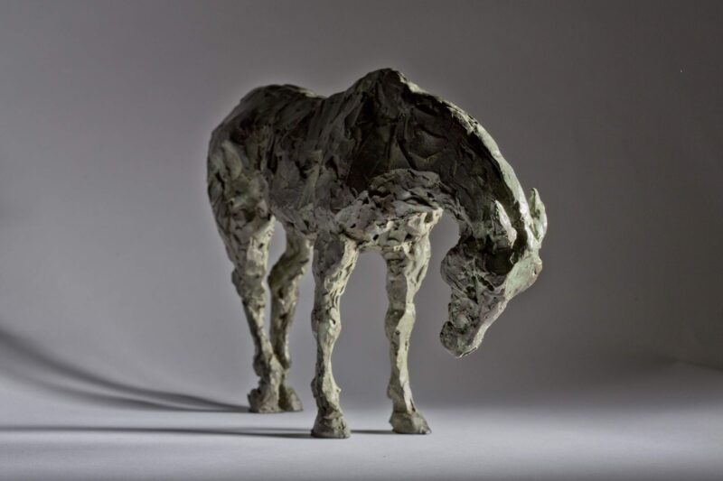 Sculpture - Bronze - Equestrian - Standing Horse 6a