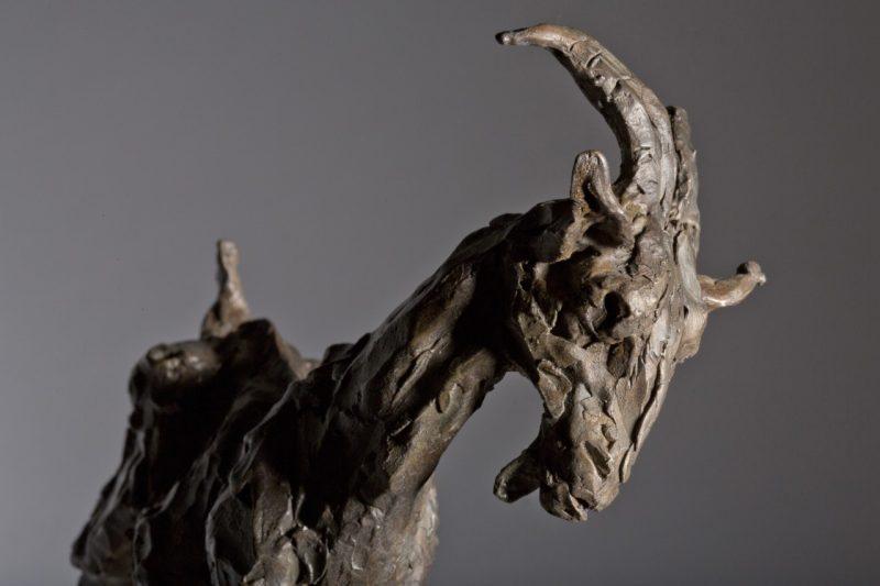Sculpture - Bronze - Wildlife - Standing Goat 4