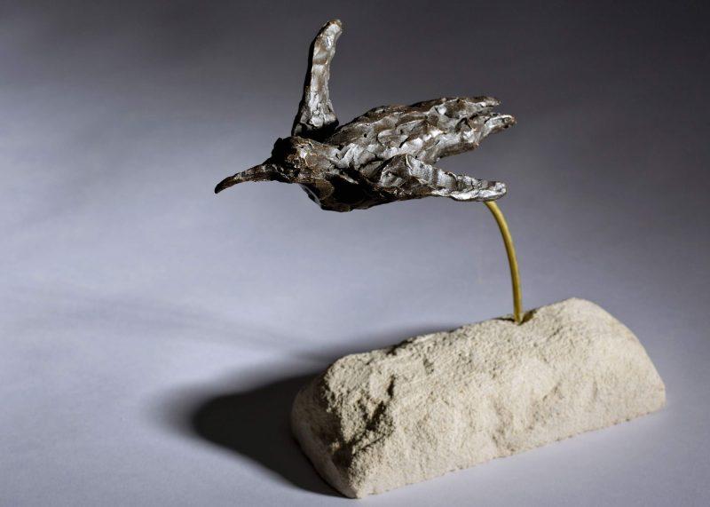 Sculpture - Bronze - Wildlife - Swimming Penguin 3