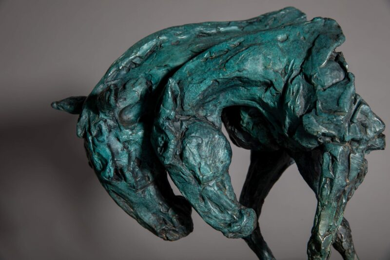 Sculpture - Bronze - Equestrian - Horse Heads 5