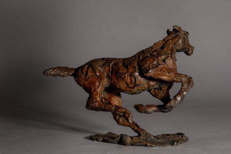 Sculpture - Bronze - Equestrian - Horse Galloping 5