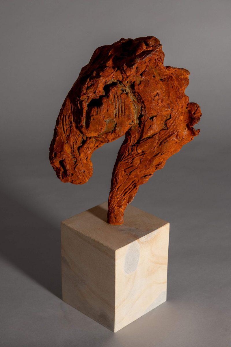 Sculpture - Bronze - Equestrian - Iron Horse Head 3