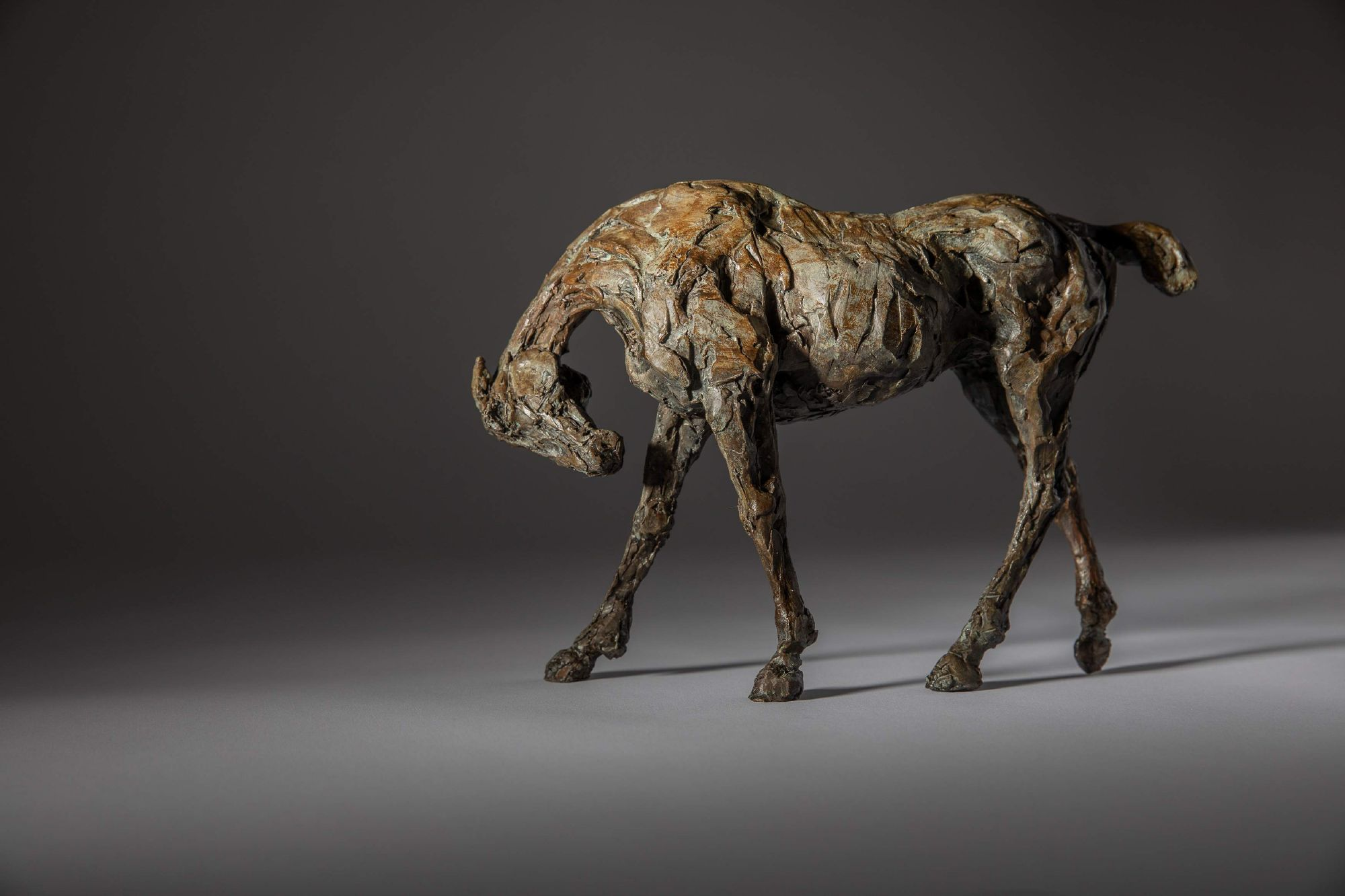 Sculpture - Bronze - Equestrian - Thoroughbred Standing Horse 1