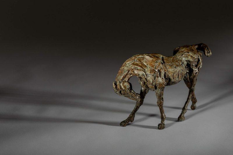 Sculpture - Bronze - Equestrian - Thoroughbred Standing Horse 2