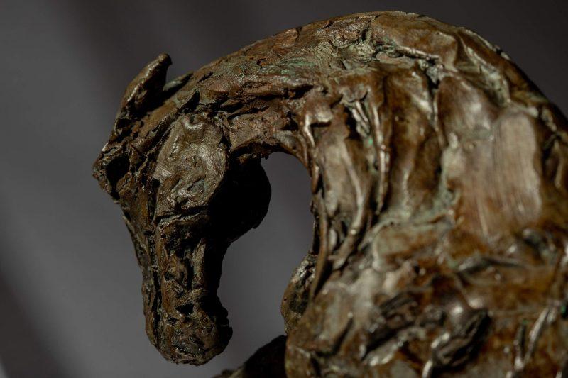 Sculpture - Bronze - Equestrian - Thoroughbred Standing Horse 4