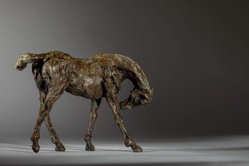 Sculpture - Bronze - Equestrian - Thoroughbred Standing Horse 5