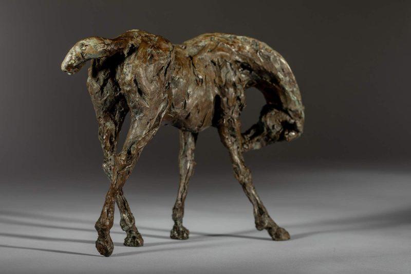 Sculpture - Bronze - Equestrian - Thoroughbred Standing Horse 6