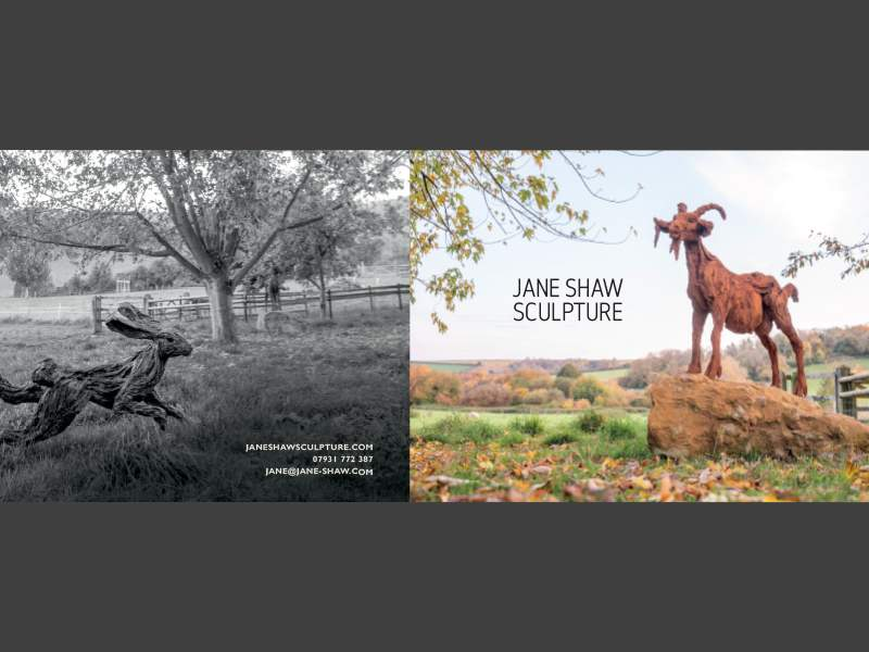 New Brochure – for outdoor garden sculptures