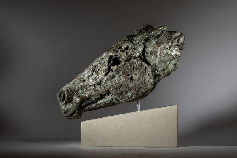 Sculpture - Bronze - Equestrian - Horse Head 10
