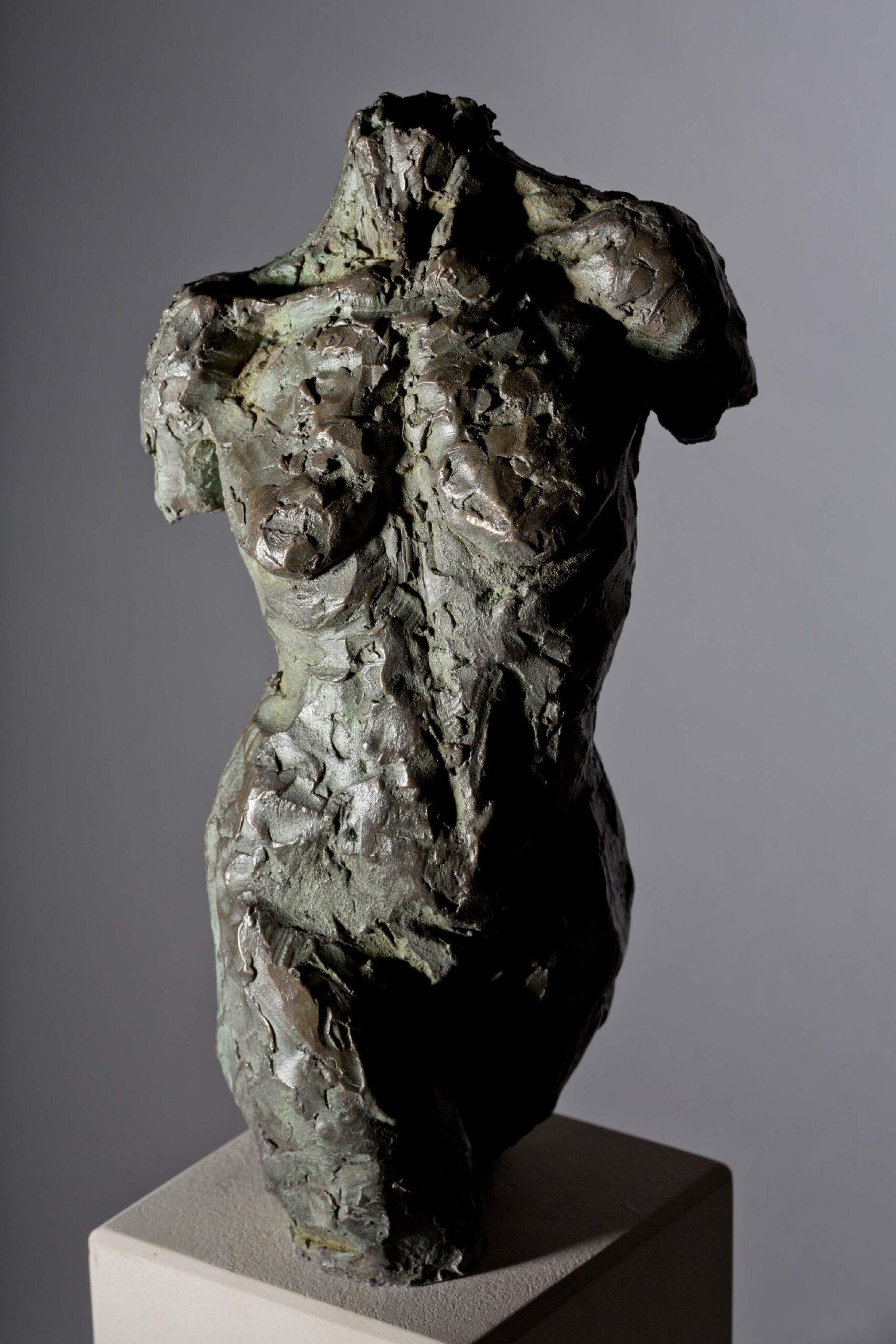 Sculpture - Bronze - Figurative - Female Torso 1