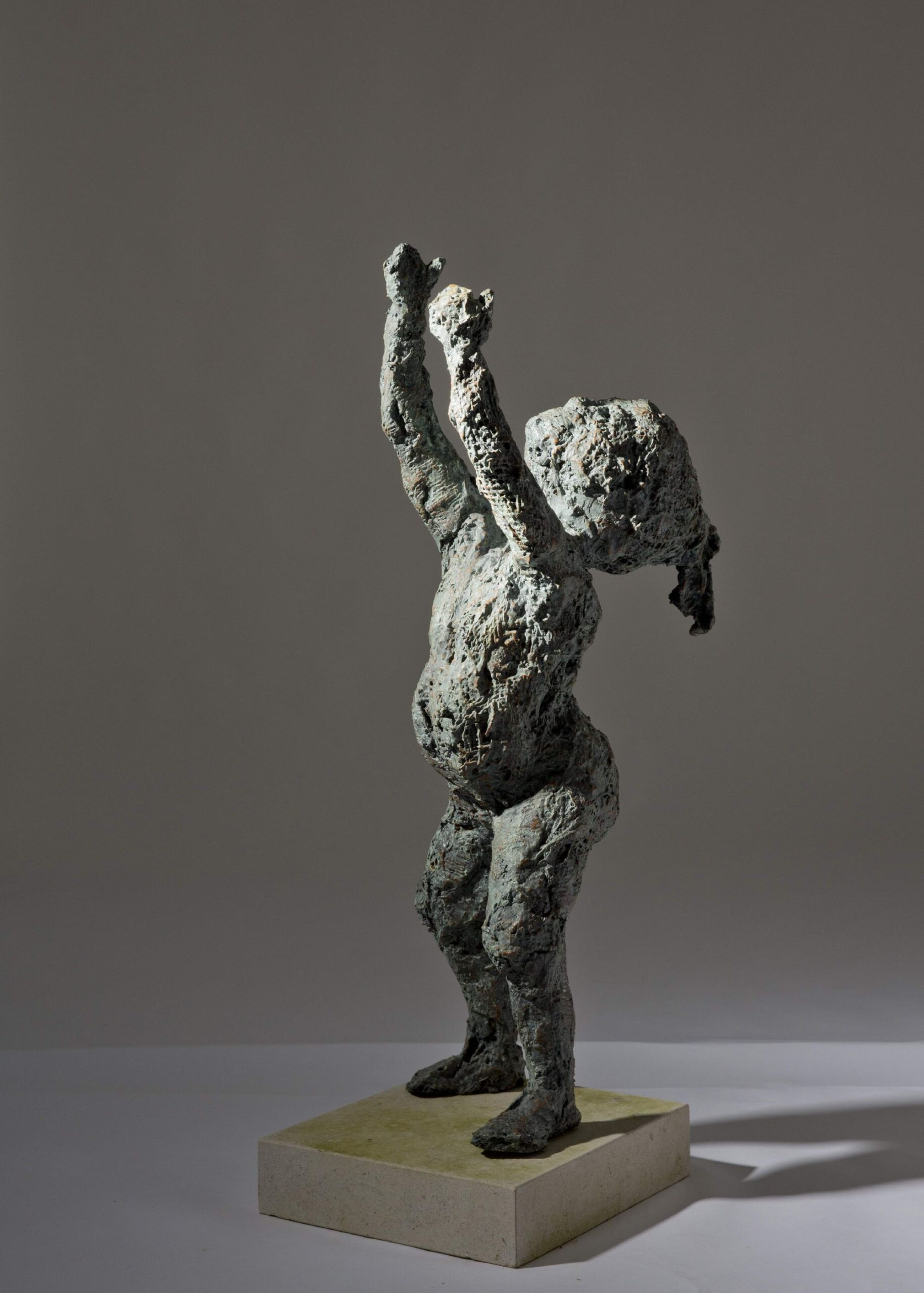 Sculpture - Bronze - Figurative - Garden Standing Child 1