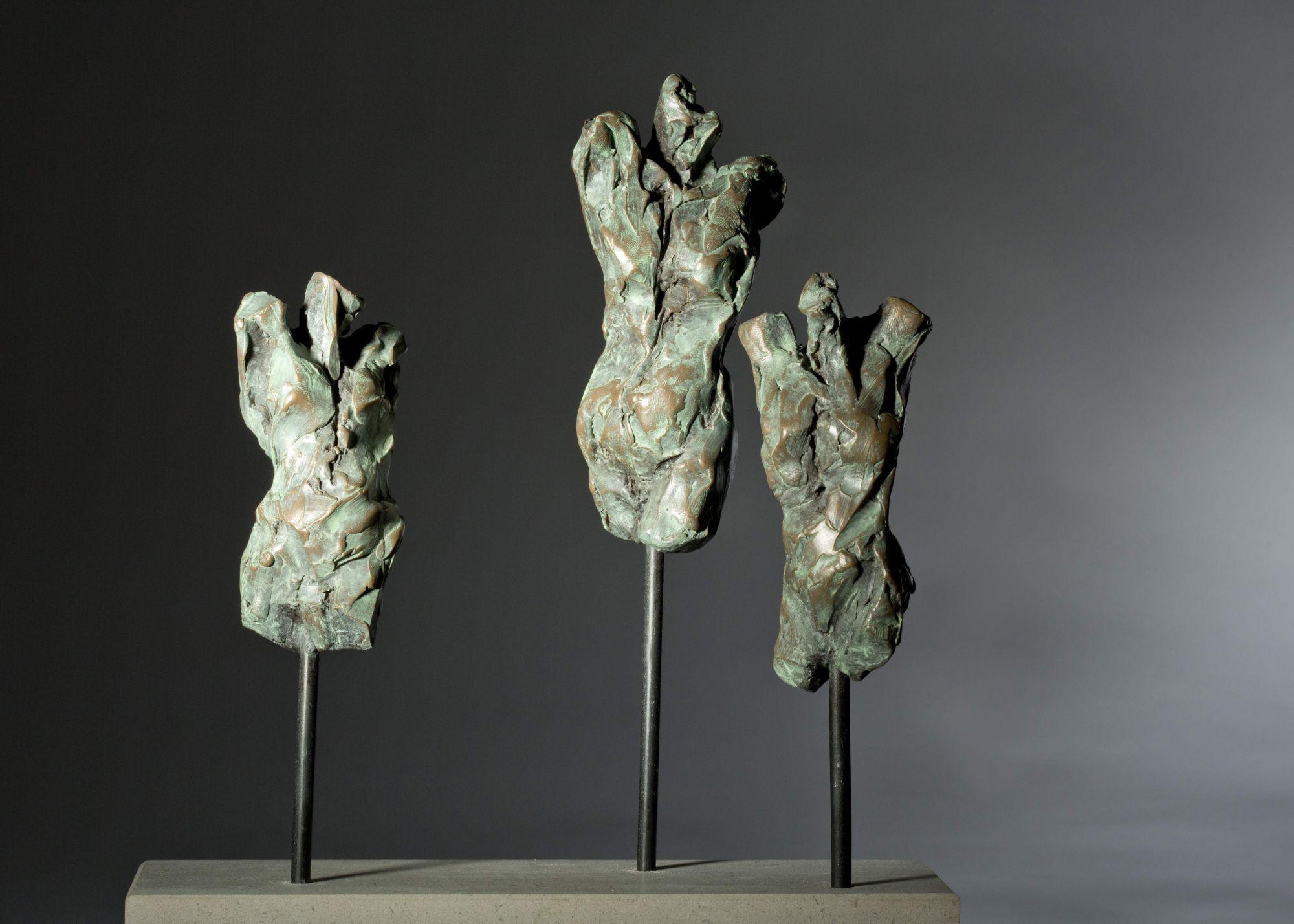 Sculpture - Bronze - Figurative - Three Female Torsos 1