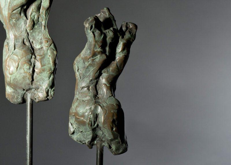 Sculpture - Bronze - Figurative - Three Female Torsos 10