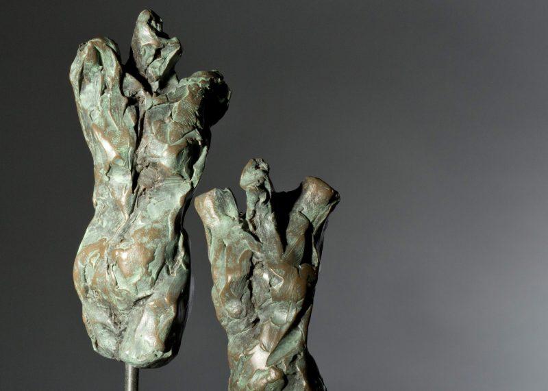 Sculpture - Bronze - Figurative - Three Female Torsos 9