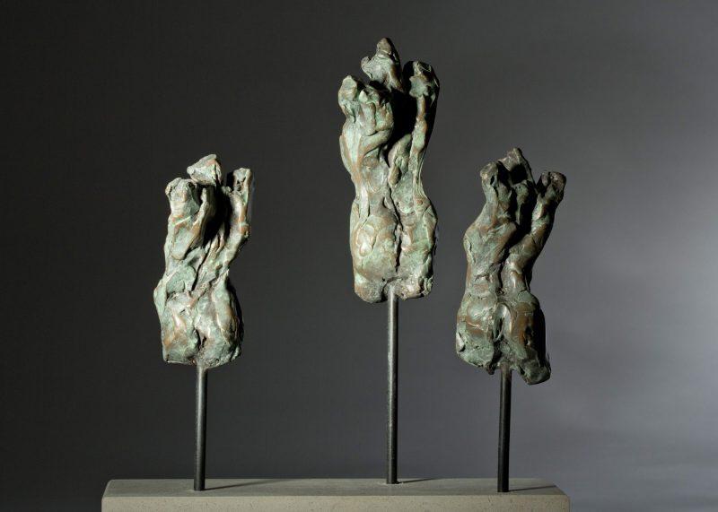 Sculpture - Bronze - Figurative - Three Female torsos 2