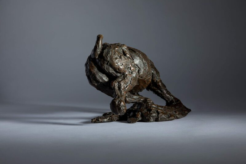 Sculpture - Bronze - Wildlife - Charging Rhino 5