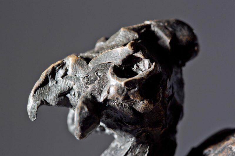 Sculpture - Bronze - Wildlife - Guinea Fowl 3
