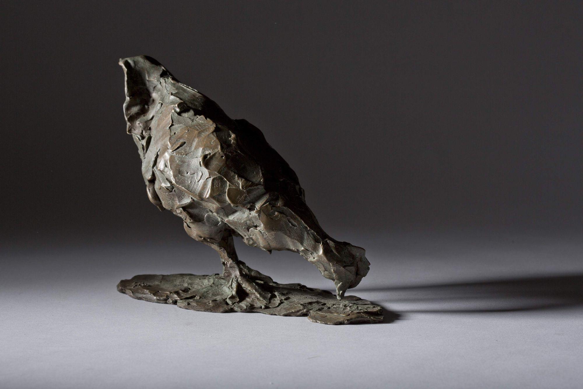 Sculpture - Bronze - Wildlife - Pecking Hen 1