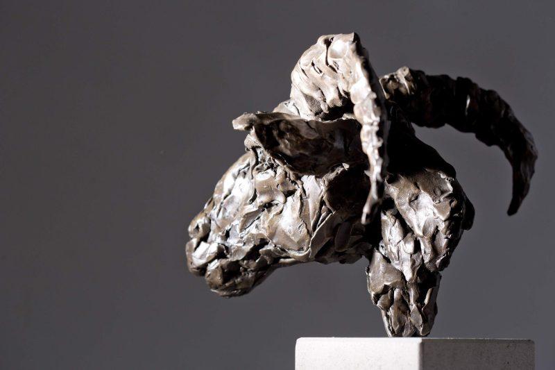 Sculpture - Bronze - Wildlife - Rams Head 5