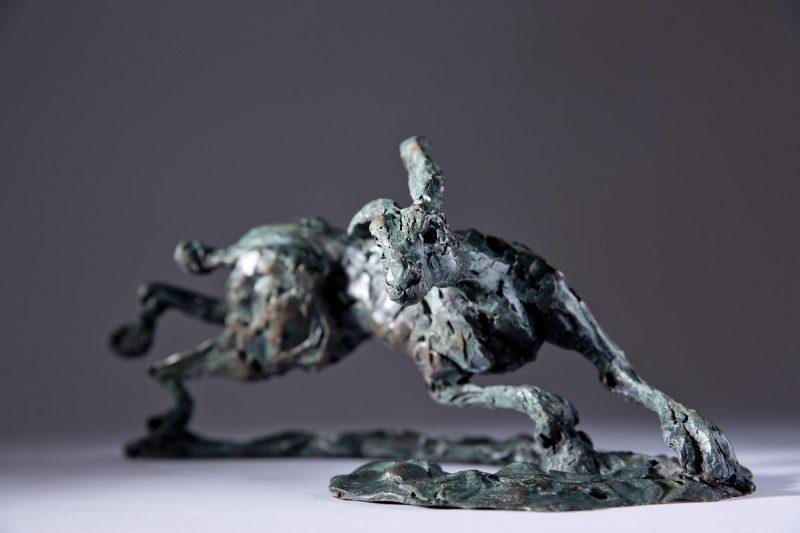 Sculpture - Bronze - Wildlife - Running Hare 2