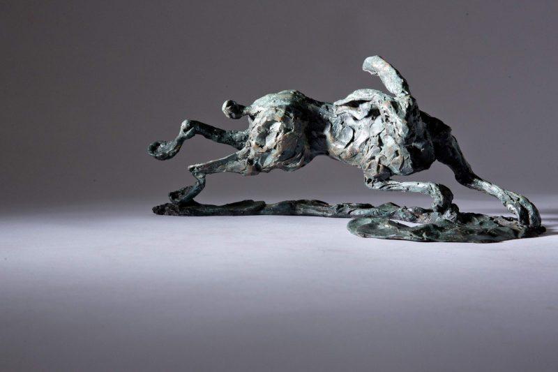 Sculpture - Bronze - Wildlife - Running Hare 5