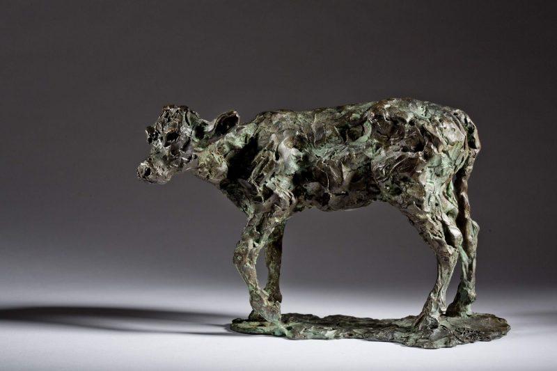 Sculpture - Bronze - Wildlife - Standing Calf 2