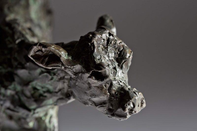 Sculpture - Bronze - Wildlife - Standing Calf 6