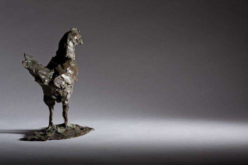 Sculpture - Bronze - Wildlife - Standing Cockerel 3