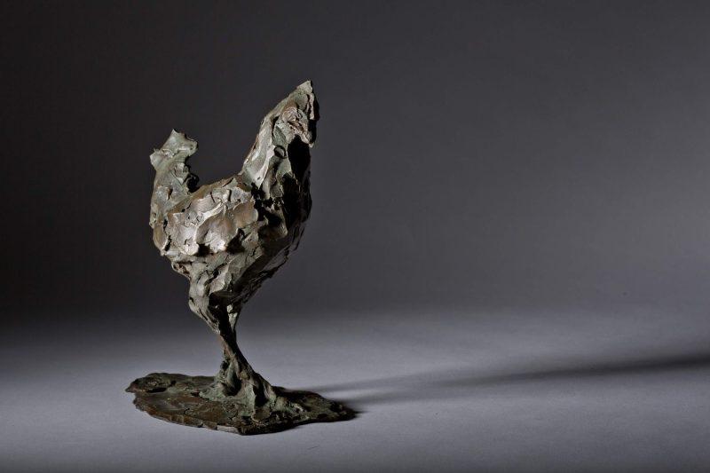 Sculpture - Bronze - Wildlife - Standing Cockerel 5