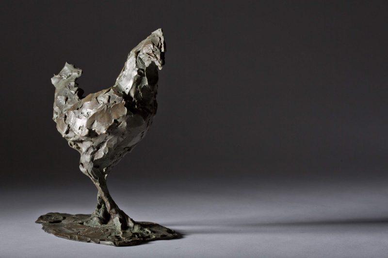 Sculpture - Bronze - Wildlife - Standing Cockerel 6