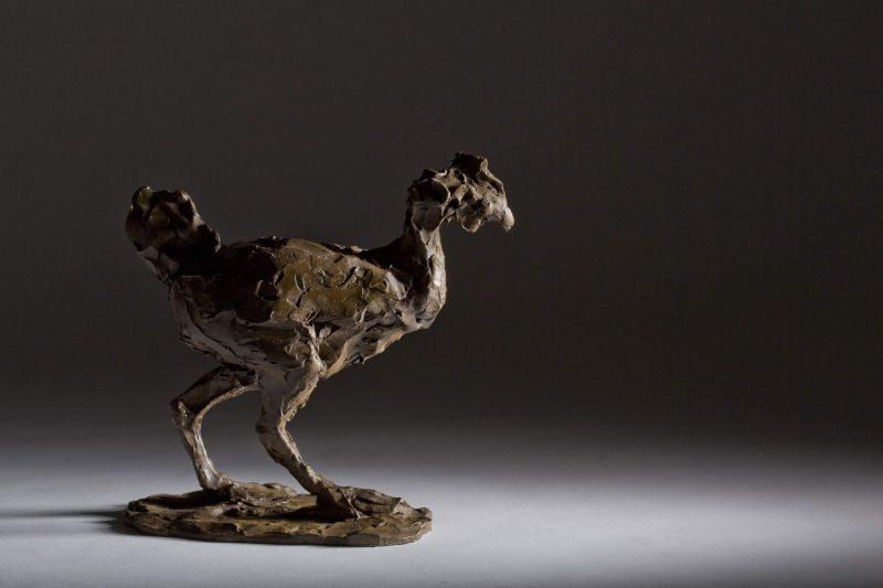 Sculpture - Bronze - Wildlife - Standing Hen 1b