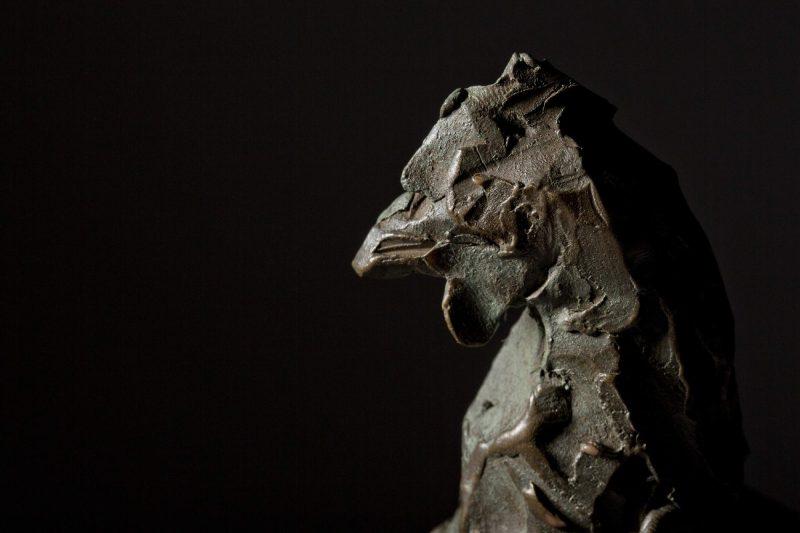 Sculpture - Bronze - Wildlife - Standing Hen 5