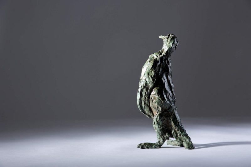 Sculpture - Bronze - Wildlife - Standing Penguin 2