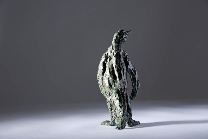 Sculpture - Bronze - Wildlife - Standing Penguin 3