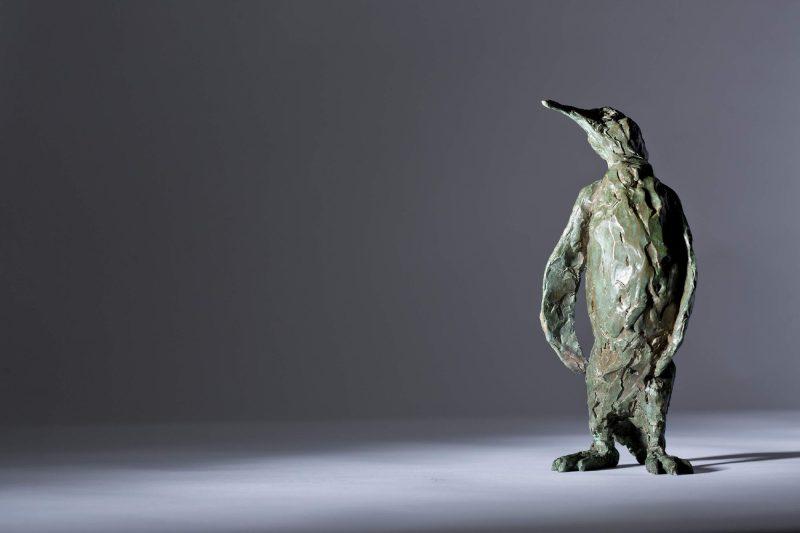 Sculpture - Bronze - Wildlife - Standing Penguin 7