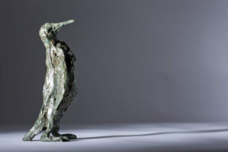 Sculpture - Bronze - Wildlife - Standing Penguin 9
