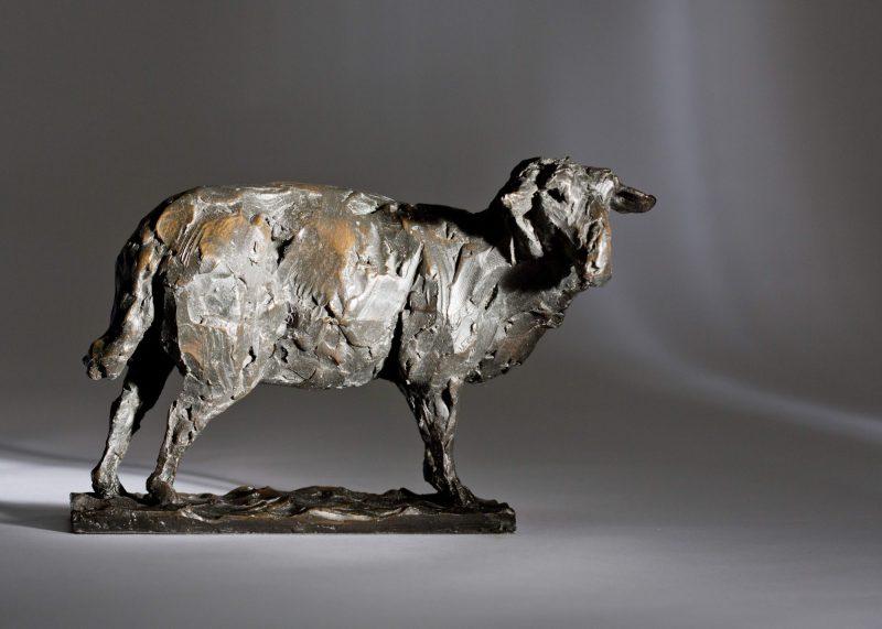Sculpture - Bronze - Wildlife - Standing Sheep 2