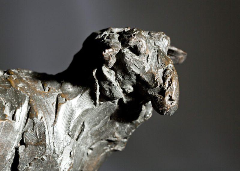Sculpture - Bronze - Wildlife - Standing Sheep 3