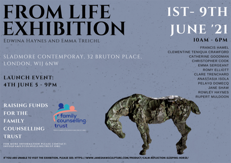 From Life Exhibition of Sculptures and Paintings at the Sladmore Contemporary