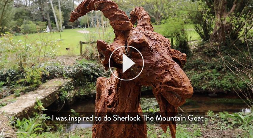 Sherlock at Moreton Walled Garden