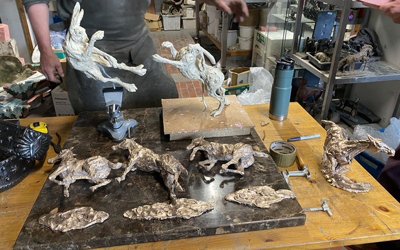 A day in the foundry